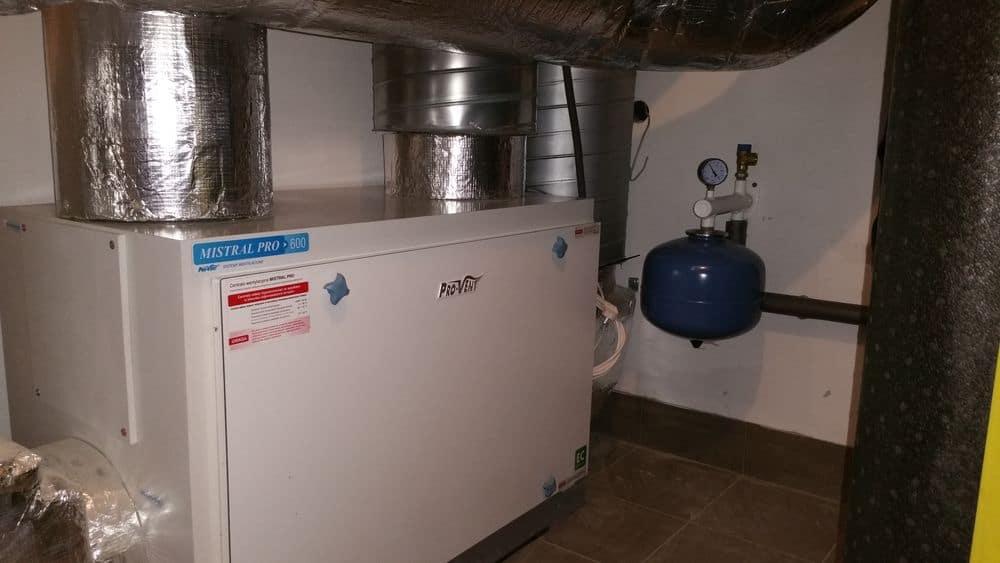 System INVENTIA z pompą ciepła w Warszawie