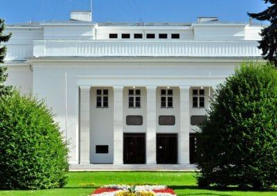 Budynek Centrum Kultury Teatr