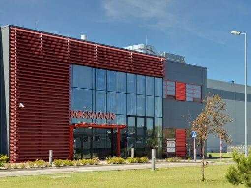Centrum logistyczne Rossmann w Grudziądzu